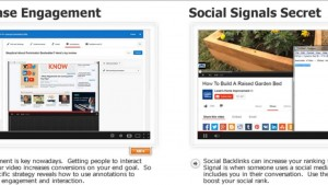 YouTube traffic video screen captures