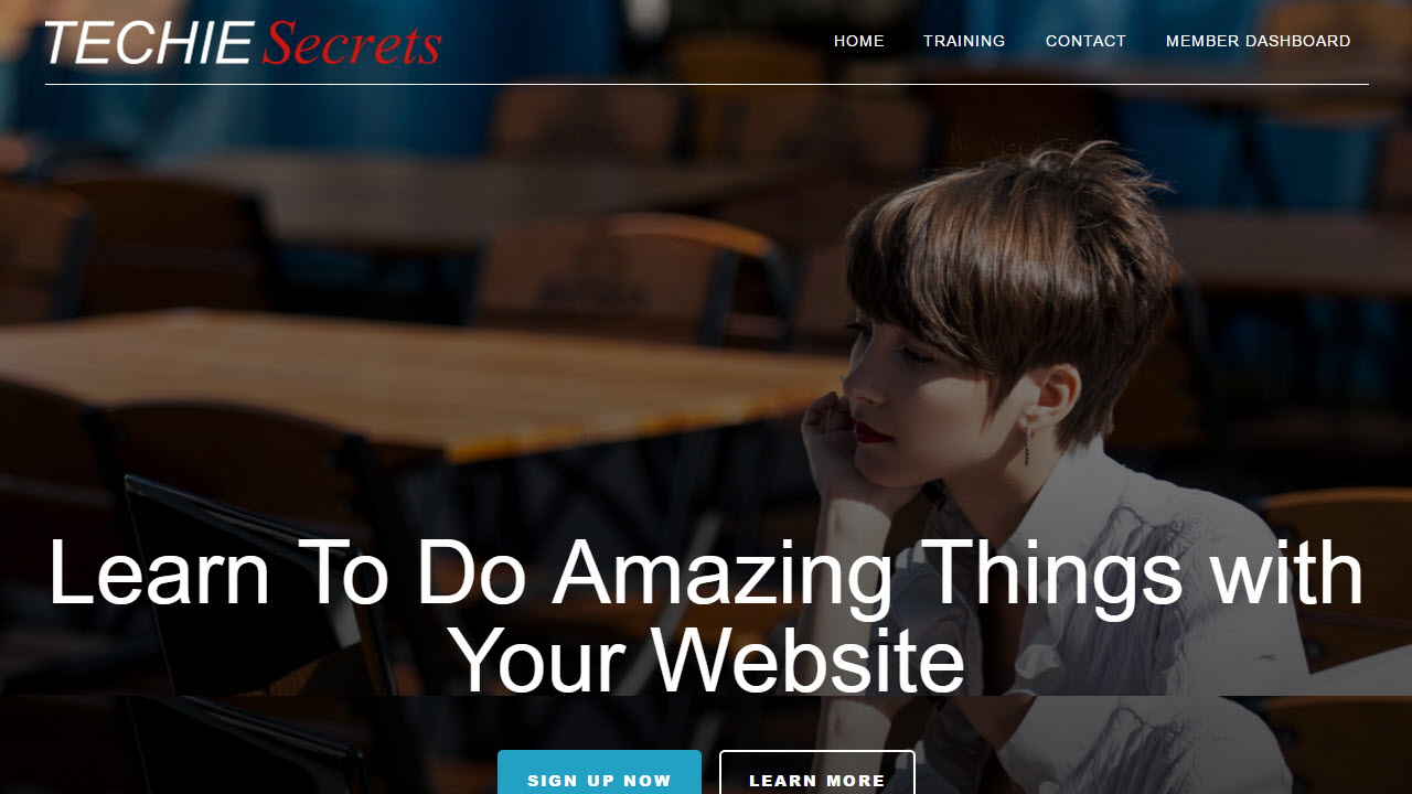 techie secrets homepage